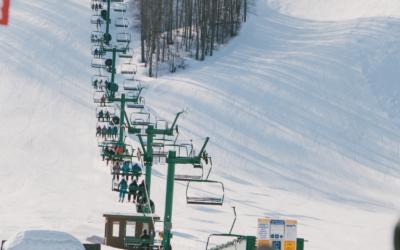 Skiing in Northern Michigan